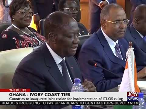 Ghana- Ivory Coast Ties - The Pulse on Joy News (16-10-17)
