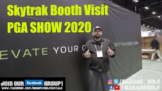 Skytrak Booth Visit and News from PGA Show 2020