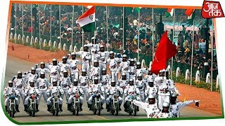 Daredevils Perform Motorcycle Stunts On Rajpath | Republic Day 2019 Live