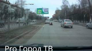 Наезд на пешехода на улице Красноармейской в Йошкар-Оле