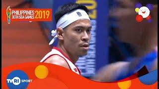 INDONESIA TAKLUKAN CAMBODIA DALAM WAKTU SINGKAT BASKETBALL 3X3 PUTRA SEA GAMES PHILIPPINA 2019