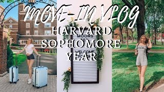 COLLEGE MOVE-IN VLOG 2019! Harvard Sophomore Year