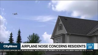 Airplane noise concerns residents