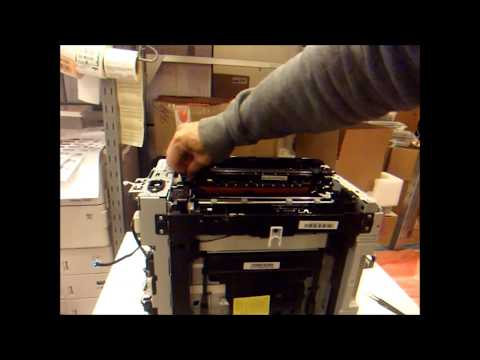 Samsung CLP 360 365, CLX 3300 3305 W FN FW Xpress SL-C410W SL-C460FW Fuser Removal and Installation