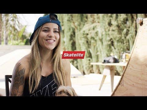 Take a tour of Leticia Bufonis Backyard Skatepark!
