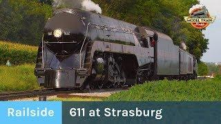 N&W 611's Journey to Strasburg