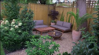 Family Garden with Terrace, Lawn & Secluded Seating Area