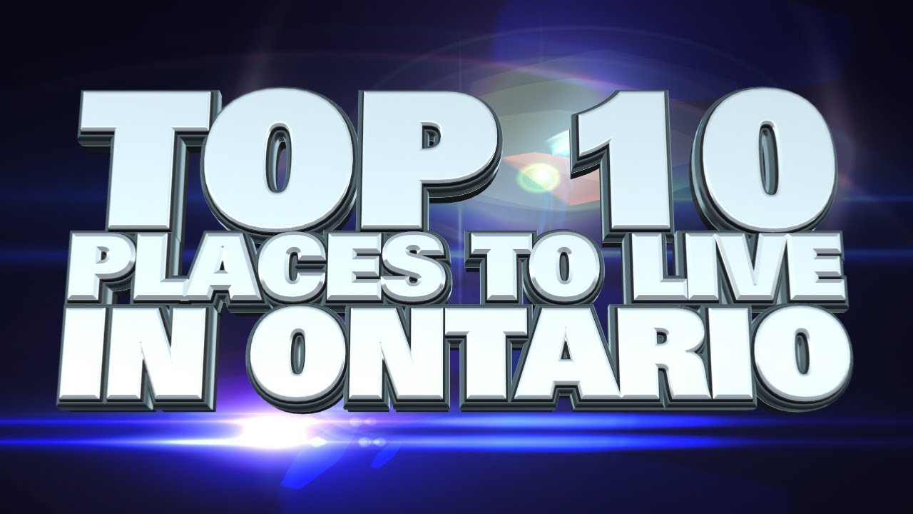what is the best place to live in canada