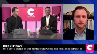 Interview with Cheddar News (2) on Brexit 31 January 2020