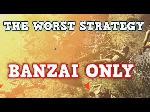 The WORST Strategy in WW2 THE JAPANESE BANZAI CHARGE! Men Of War:Assault Squad 2 Memes