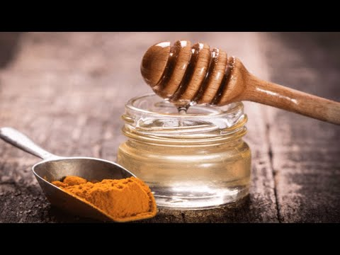 Honey With Turmeric, The Most Potent Antibiotic, That Not Even Doctors Can Explain!