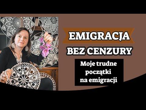 Emigracja bez cenzury. Moje trudne początkina emigracji. Jak to się kiedyś jeździło za granicę