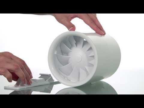 Новый бесшумный канальный вентилятор ВЕНТС Квайтлайн 150