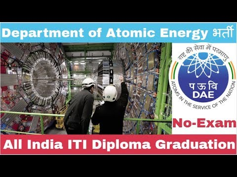 Department Of Atomic Energy Recruitment For Various Post