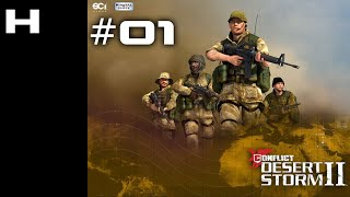 Conflict Desert Storm II Walkthrough Part 01 (SAS) [PC]