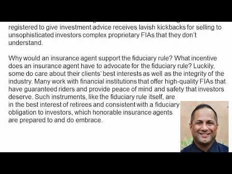 Anil Vazirani DOL Fiduciary Rule Puts American Investors First