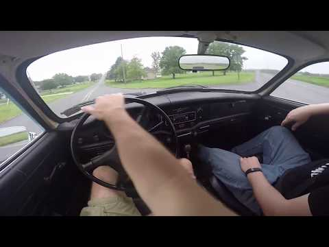 Driving A 1974 Karmann Ghia