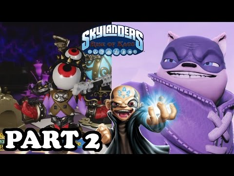 Skylanders: Rise of Kaos - KAOS VS NIGHTSHADE! Part 2 Walkthrough