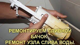 Постоянно течет вода в унитазе: видео-инструкция по монтажу своими руками, почему подтекает из бачка, цена, фото