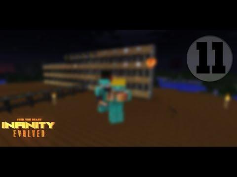 FTB İnfinity Evolved Expert Mod Bölüm 11 Logistics Pipe İle Tesseractı Otomatikleştirdik!!