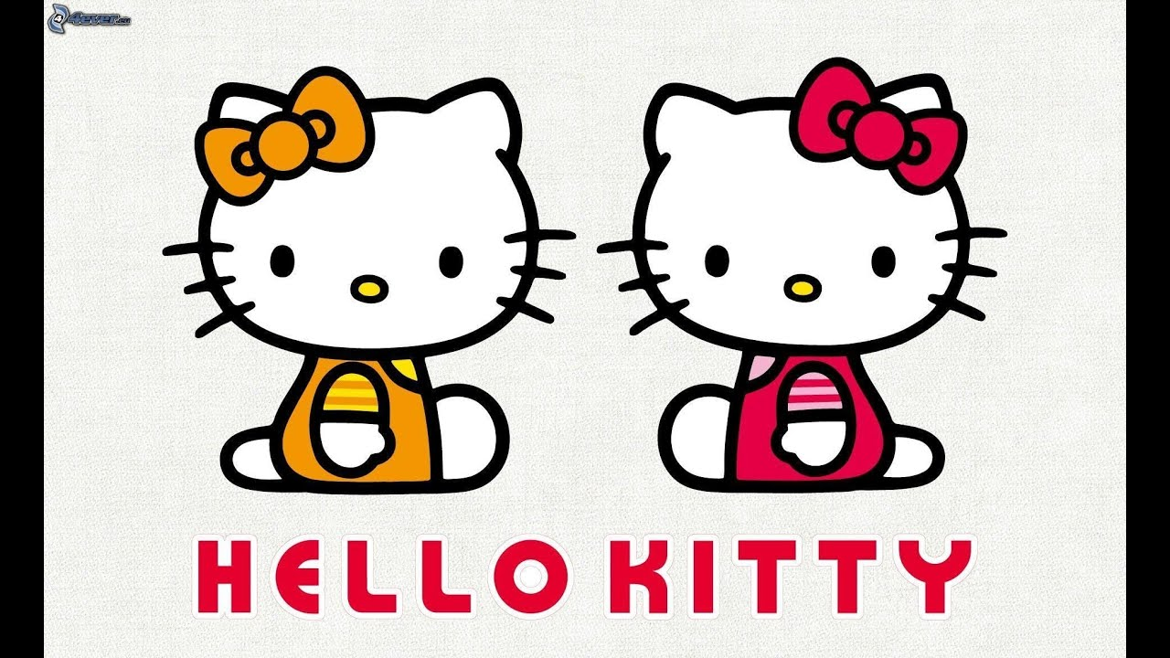 How to Paint Hello Kitty  Drawing and Painting Hello Kitty Draw
