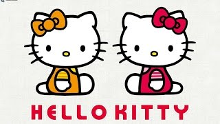 How to Paint Hello Kitty - Drawing and Painting Hello Kitty [Draw with Buse]