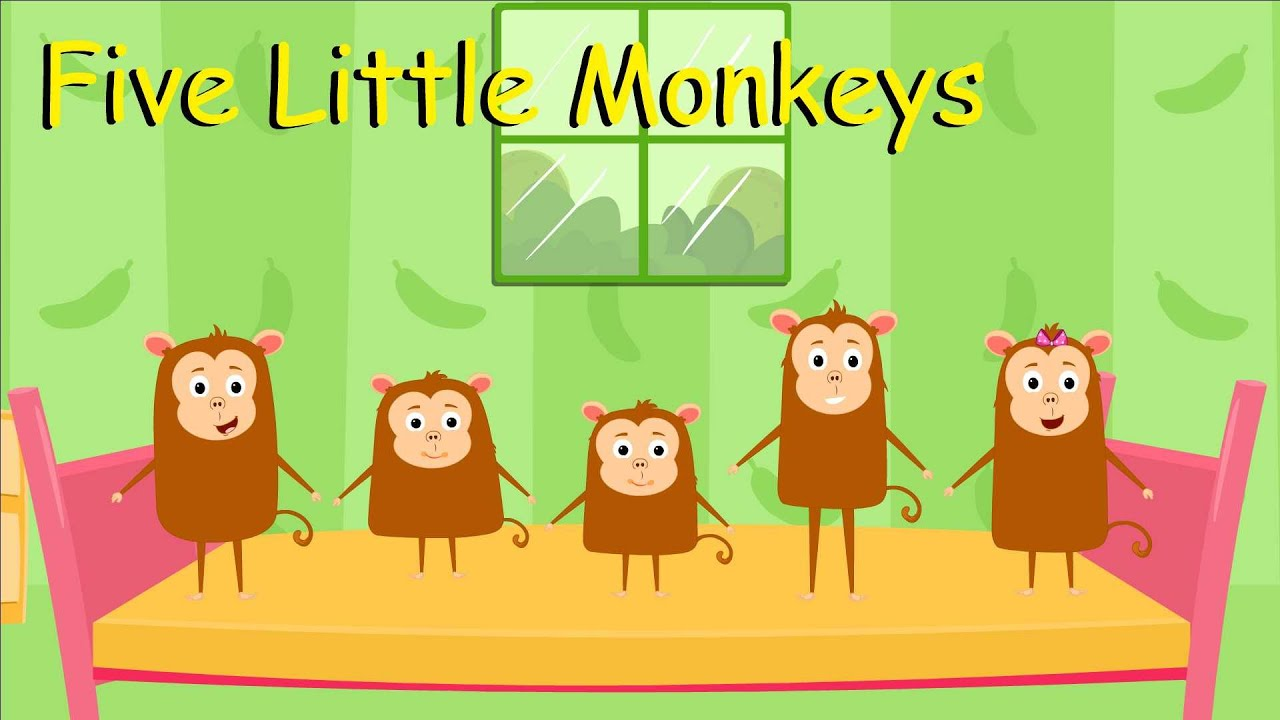 Five Little Monkeys Jumping On The Bed Song | Kids Songs | Super Toddlers