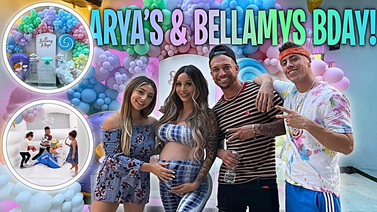 CELEBRATING BELLAMY AND ARYA'S BIRTHDAY!!