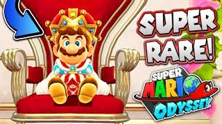 UNLOCKING a SUPER RARE outfit in Super Mario Odyssey!