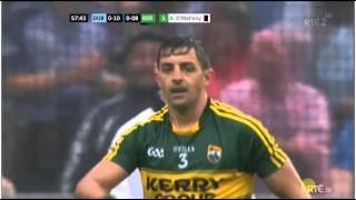 Aidan O'Mahony Black Card Cynical Foul :Dublin vs Kerry All Ireland Football Final 2015