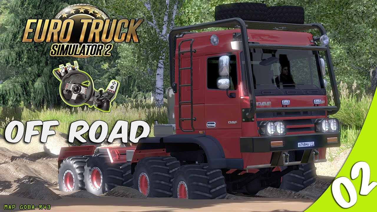 euro truck simulator 2 off road youtube. Black Bedroom Furniture Sets. Home Design Ideas