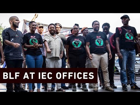'We don't accept white people,' says BLF as it registers for 2019 elections