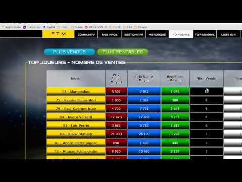 FUT 16 | Achat Revente | Présentation du site FUT Trading Manager