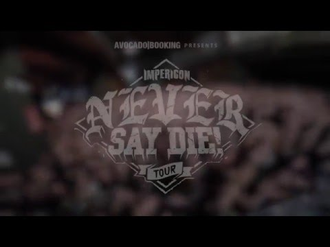NEVER SAY DIE TOUR 2015 - LEIPZIG - Review