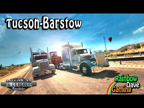 American Truck Simulator | Episode 68 | Tucson to Barstow