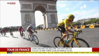 Tour De France Champion Chris Froome Speaks To Sky