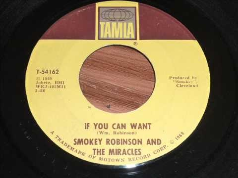 Robinson, Smokey & The Miracles - If You Can Want 45rpm