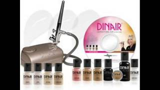 Airbrush Makeup Kit Dinair PRO EDITION, 8 Makeup ColorsShades Thumbnail