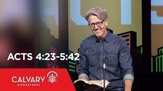 Video Acts 4:23-5:42 - Skip Heitzig download MP3, 3GP, MP4, WEBM, AVI, FLV November 2017
