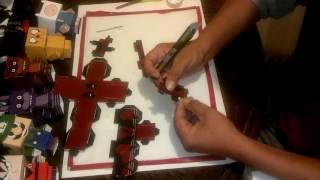 como hacer personajes de (cubeecraft)deadpool/papercraft