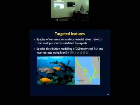 Jorge Alvarez Romero - A practical approach to design a network of marine reserves in the [...]