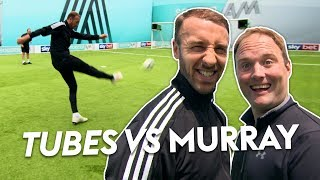 Premier League striker scores STUNNING volley! 🤩 | Tubes vs Glenn Murray