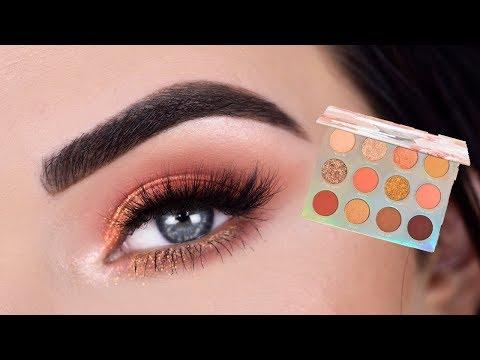 ColourPop Sweet Talk Eyeshadow Palette   Eye Makeup Tutorial