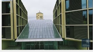 A Drone's Eye View of the Andrew Wiles Building