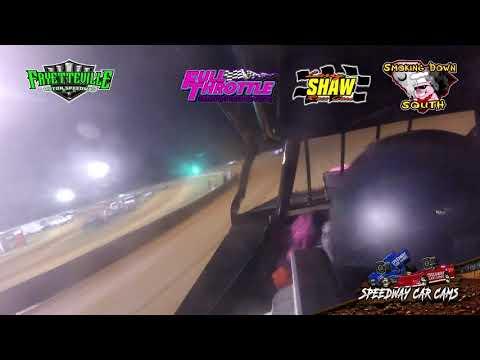 #44 Josh Fields - Open Wheel - 7-19-19 Fayetteville Motor Speedway - In-Car Camera