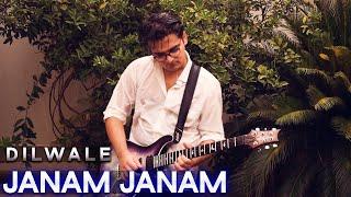 Janam Janam - Dilwale - Electric Guitar Cover By Rafay Zubair