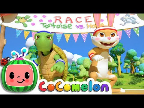 The Tortoise and the Hare | ABCkidTV Nursery Rhymes & Kids Songs