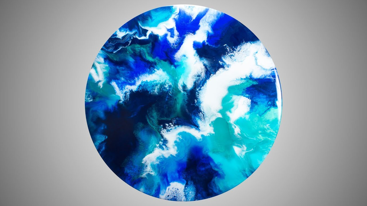 Just Resin - Resin Art - Deep Blue