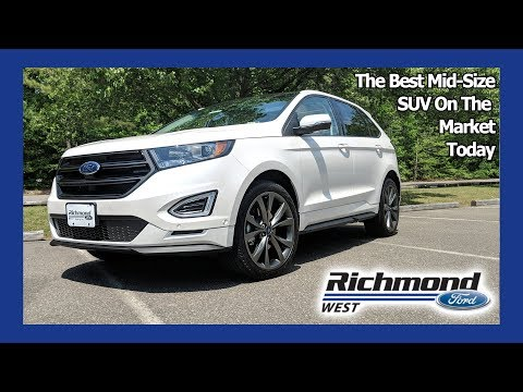 2018 Ford Edge Review: The Mid-Size SUV You Need