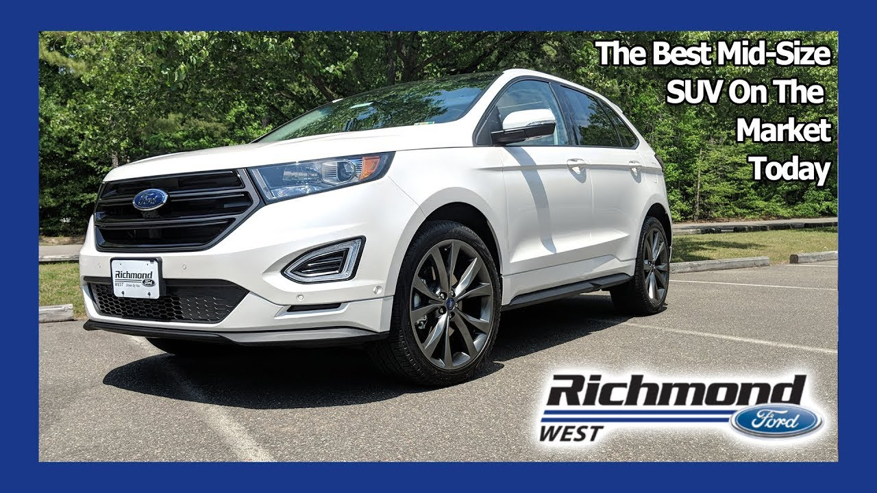 Ford Edge Review The Mid Size Suv You Need